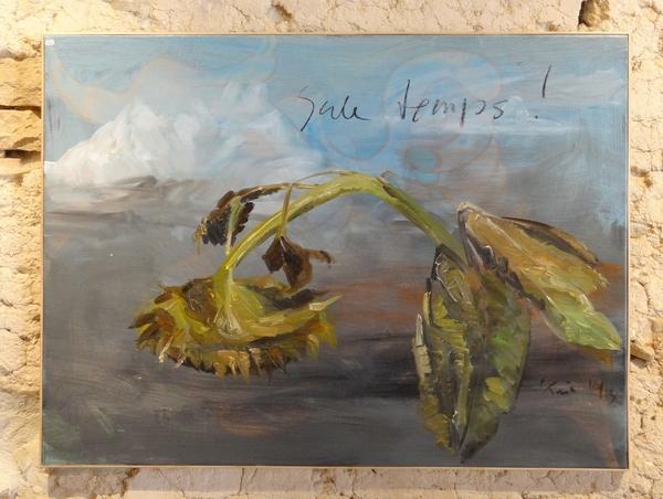"""""""Tournesols prêts à être moissonnés"""", une nouvelle et très belle exposition 2014, de Karin Neumann"""