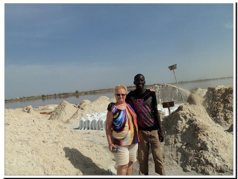 Sénégal les dunes du lac rose