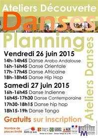 LES NUITS DANSES du 22 au 27 juin 2015 !