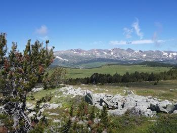 Au sommet du pic dels Moros, vers la chaîne du Carlit