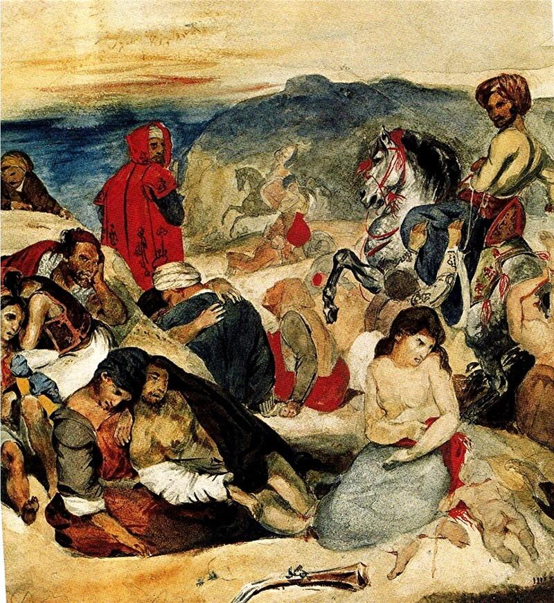 2-Eugène Delacroix /1/  De la peinture lyrique...