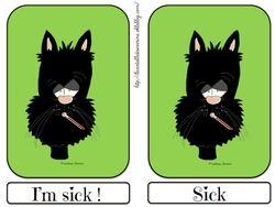 Flashcards sick