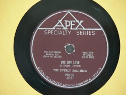 Everly Brothers : Bye Bye Love (1957)