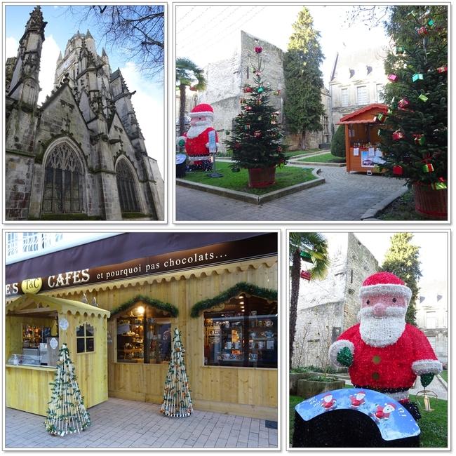 Ambiance Noël à Saintes