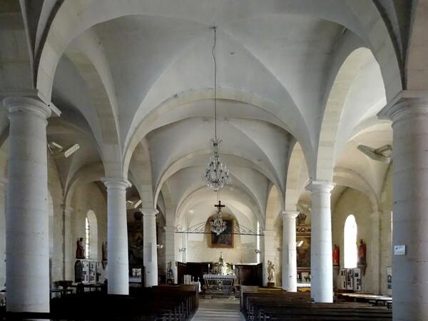 Les reliques de saint Bernard et des moines de Clairvaux à Ville sous la Ferté dans l'Aube