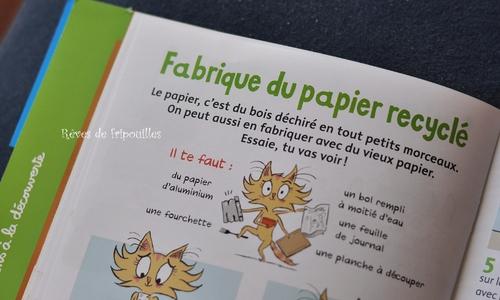 Vive le recyclage avec - Youpi - magazine - éd Bayard