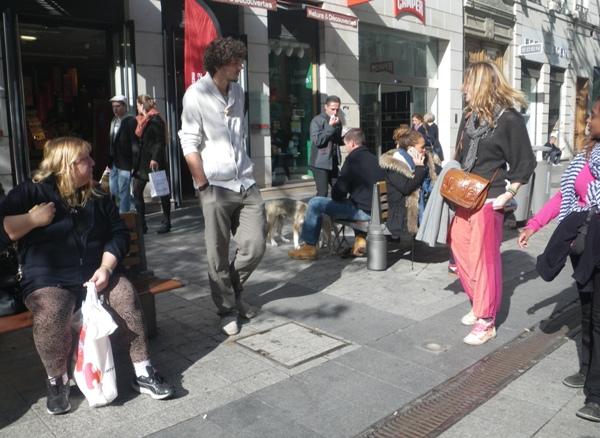 Visite en ville avec Jemma et Juli