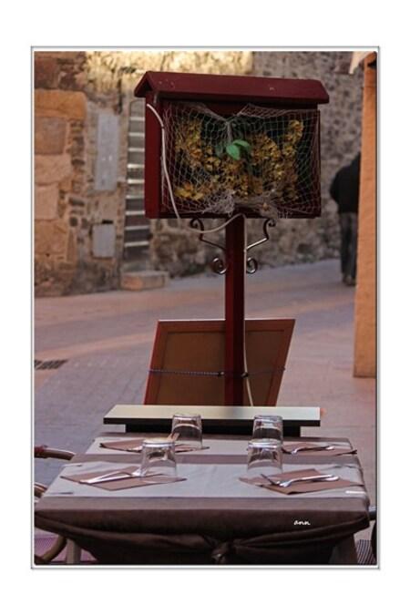 Une carte d'automne sur ordonnance (Collioure)
