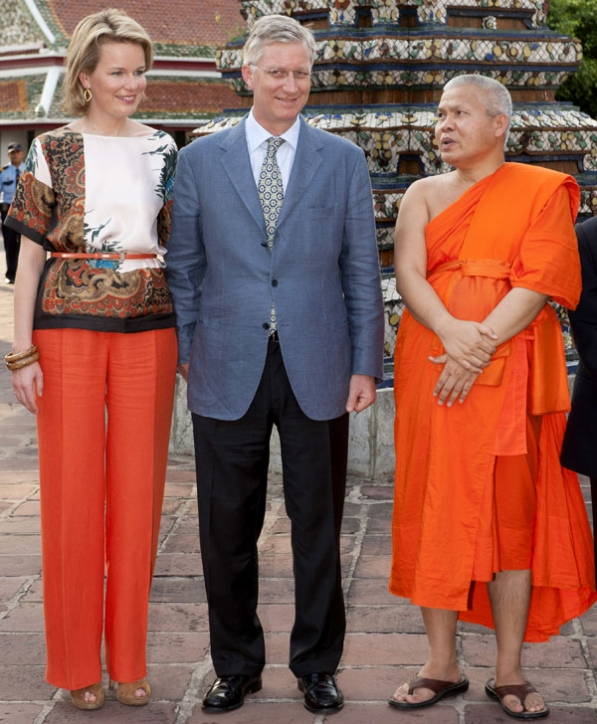Philippe et Mathilde en Thaïlande