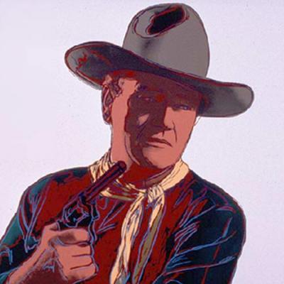 Cowboys & Indians: John Wayne, 1986 Poster