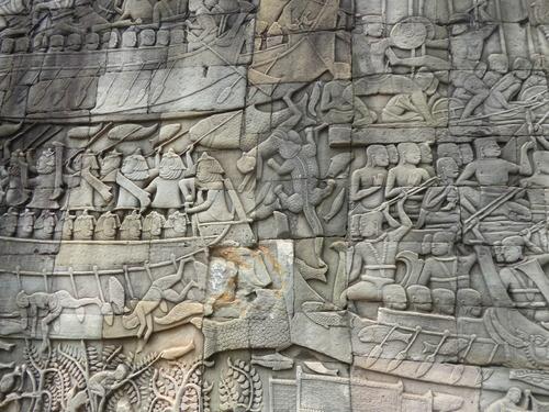 J13, Siem Reap, les temples d'Angkor,2, Cambodge