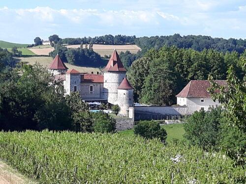 Le château Chapeau Cornu