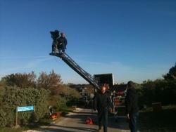 Troisième jour de tournage