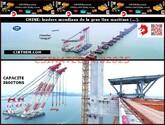 CHINE: leaders mondiaux de la grue fixe maritime (...)(2-complément).