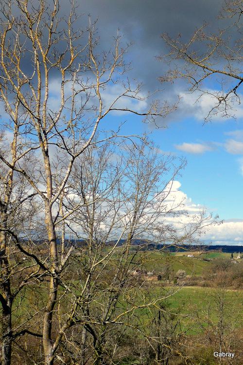 Salvagnacen 81 : paysages en mars...