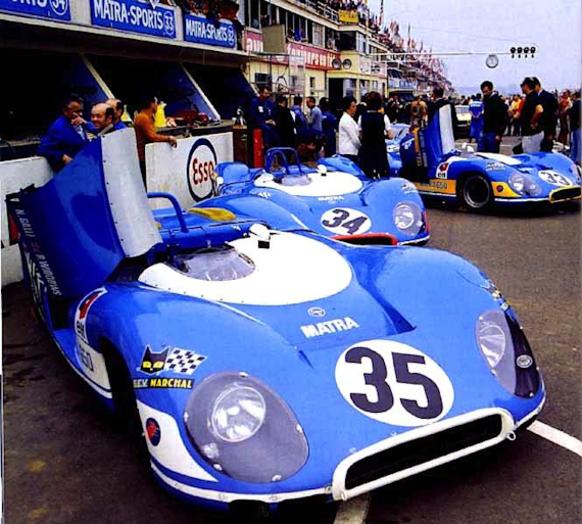 JP Beltoise Matra LM 69