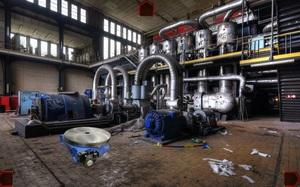 Jouer à Escape abandoned power plant