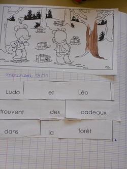 """""""Ecrire avec Ludo"""" en période 2 avec les CP"""