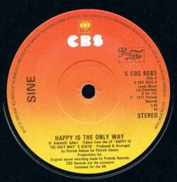 Siné - Happy Is The Only Way