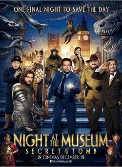La nuit au musée - Le secret des pharaons de Shawn Levy