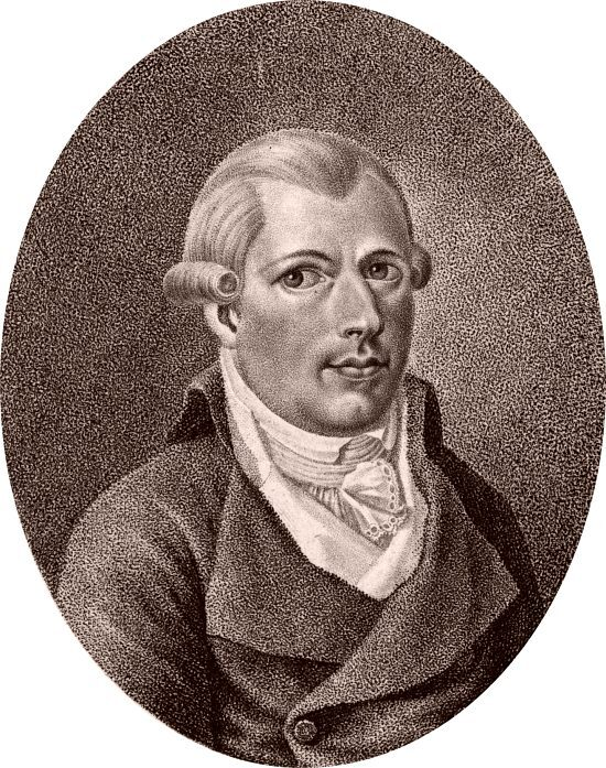 Adam Weishaupt (1748-1830). Gravure de 1799 de C. K. Mansinger