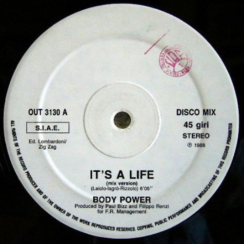Body Power - It's A Life (1988)