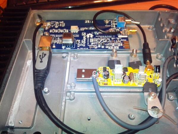 Double réception SDR avec deux  clés TNT