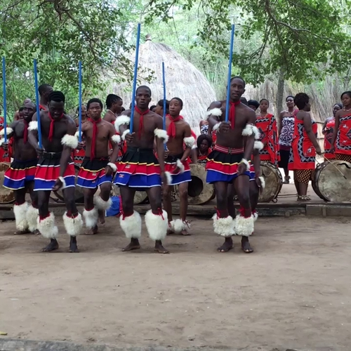 quelques danses traditionnelles zouloues