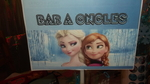 Bar à ongles Reine des neiges