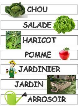Lexique du jardin