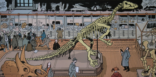 Nestor Burma au Museum d'histoire naturelle