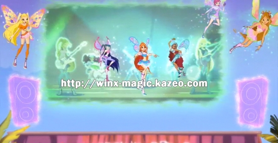 Winx groupe disco!