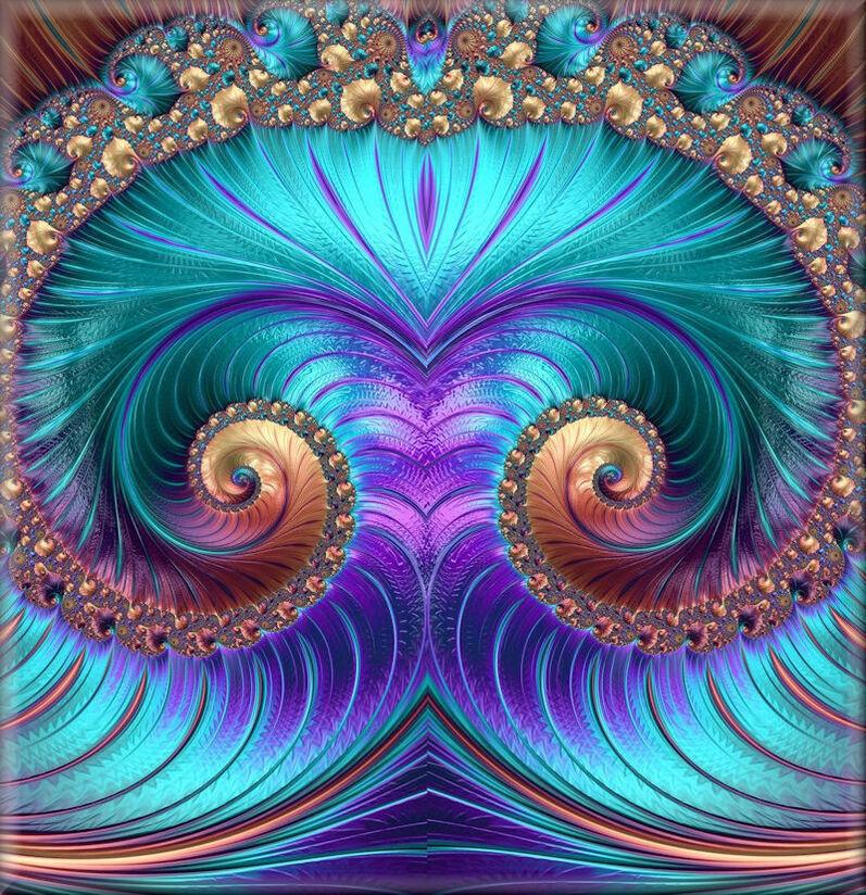 Une variante de mes fractales