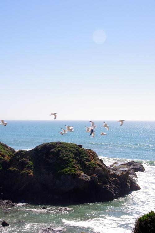 La côte au nord de L.A.