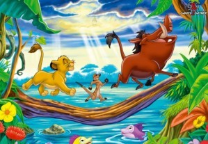 Hidden objects - The lion king