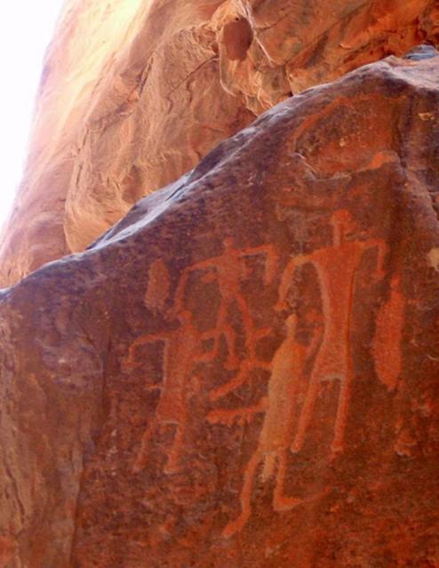 De mystérieuses statues en Jordanie
