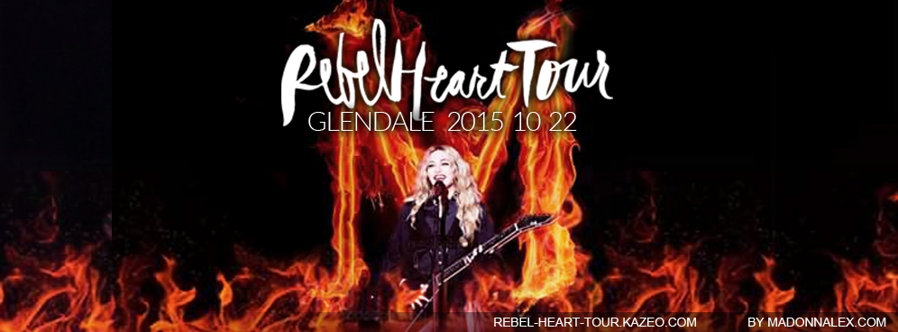 Madonna - The Rebel Heart Tour Glendale