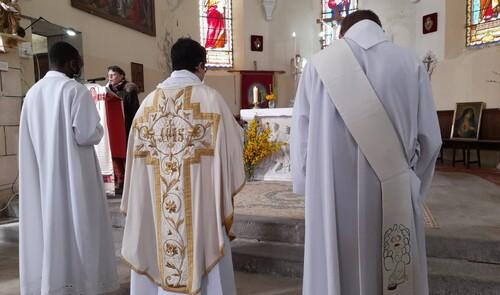 Messe pour l'Ascension à Lignerolles le13 Mai 2021