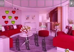 Jouer à Valentine's heart house escape
