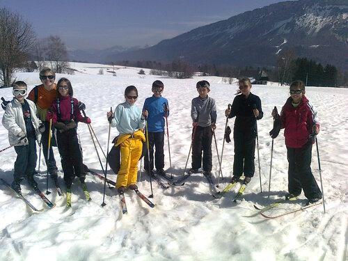 4 jours de ski fond à la Feclaz