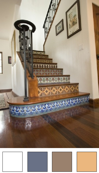 Les escaliers - Nuancier 8