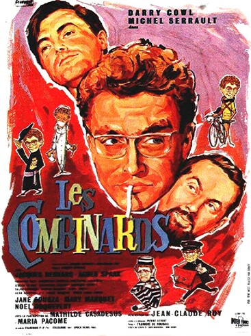 LES COMBINARDS BOX OFFICE 1966