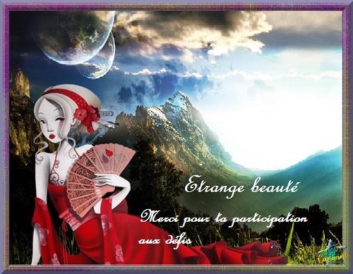 Fabuleuses créations l'étrange beauté..