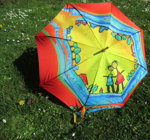 Les ombrelles de l'été