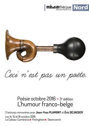 Jean - Yves Plamont et Eric Dejaeger : l'humour franco-belge....