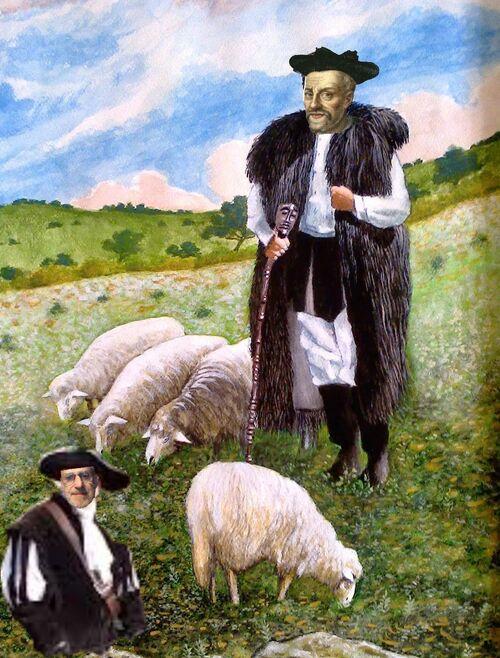"""Le long poème du jour : """" Tailler la route, """" ou """"  Le long périple Rabelaisien, """" de ... Rotpier"""