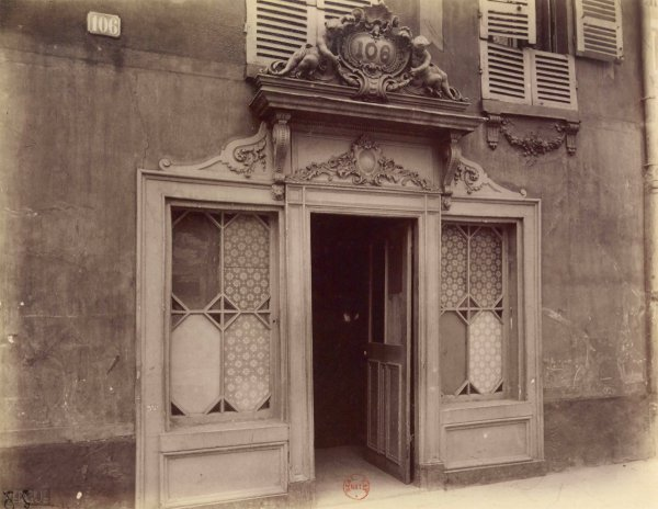 Eugène Atget : bordel, avenue de Suffren