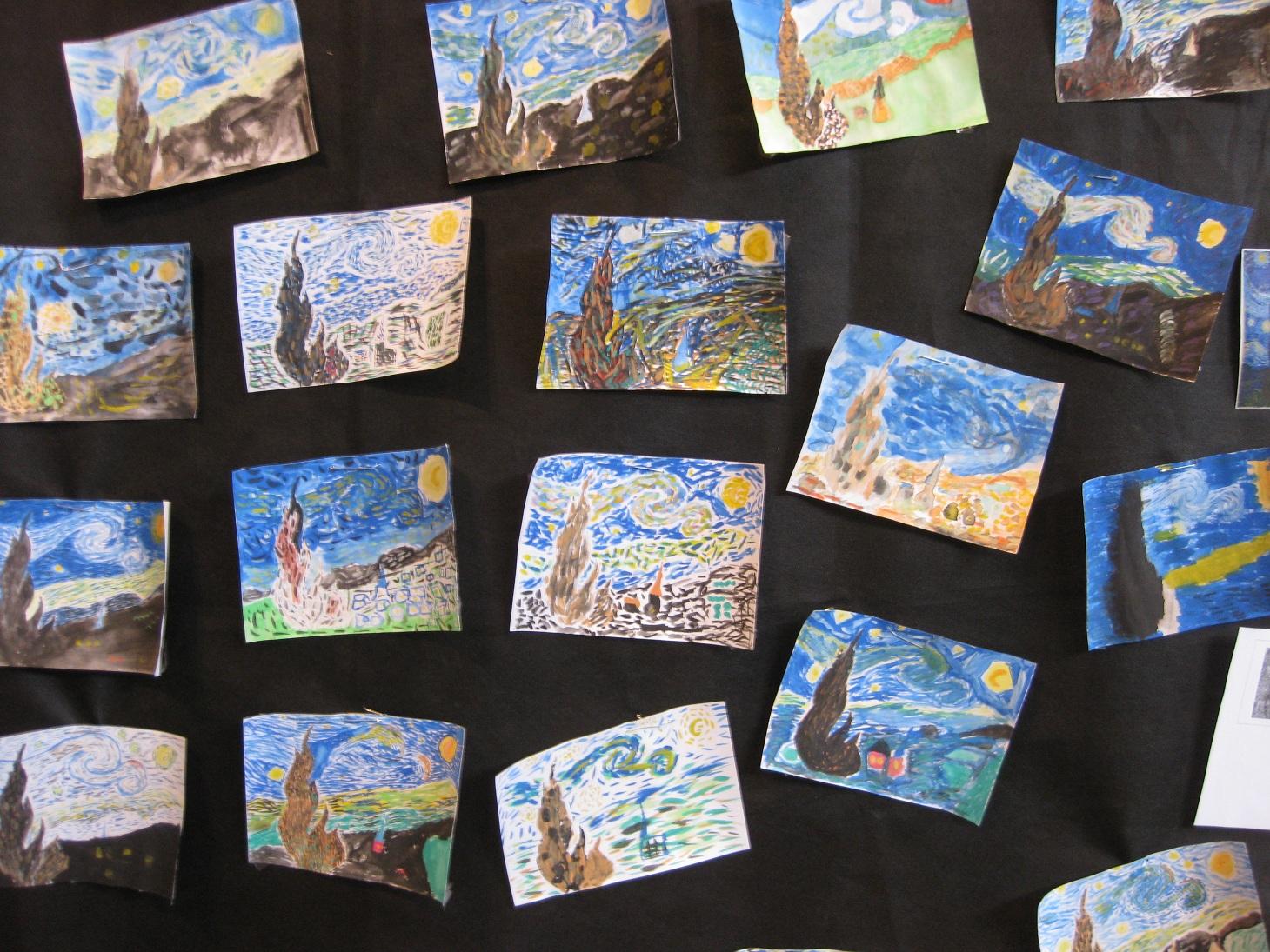 Sehr La semaine des arts visuels - Le journal de l'école Victor Hugo SE94