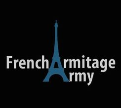 "Concours ""Keep Calm"" ! logo French Armitage Army"