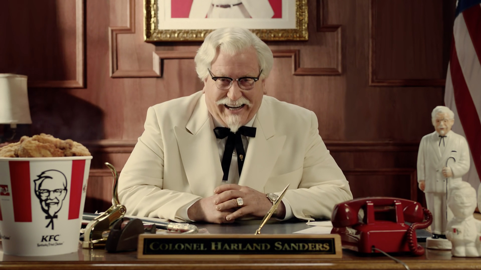 "Harland ""Colonel"" Sanders - Kentucky Fried Chicken Restaurants (KFC)"